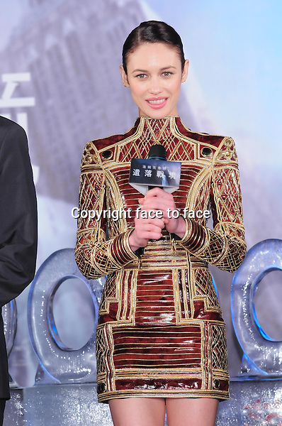 "Olga Kurylenko attending the premiere of ""Oblivion"" in Taipei, Taiwan on Saturday April 06, 2013...Credit: Topphoto/face to face - No rights for China and Taiwan -"