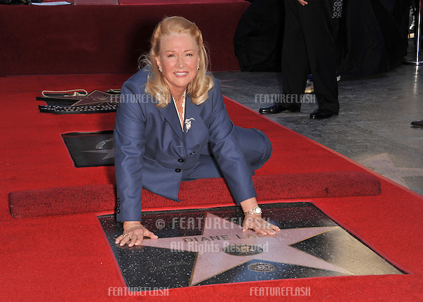 Diane Ladd on Hollywood Boulevard where, together with her ex-husband Bruce Dern & their daughter Laura Dern, she was honored with a star on the Hollywood Walk of Fame. This was the first time in history that three stars from the same Hollywood family dynasty of actors was honored at the same time..The Hollywood Walk of Fame is celebrating its 50th anniversary this month..November 1, 2010  Los Angeles, CA.Picture: Paul Smith / Featureflash