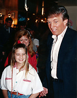 1992 <br /> Donald Trump with Ivanka<br /> Photo By John Barrett-PHOTOlink.net/MediaPunch