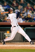 Houston's Chris Joseph (48) follows through on his swing versus Arizona State at the 2007 Houston College Classic at Minute Maid Park in Houston, TX, Sunday, February 11, 2007.  The Sun Devils  defeated the Cougars 11-1.