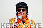 Amelia Lowe aka Elvis pictured at the Enable Ireland Lip Sing battle at the Ballyroe Heights hotel on Saturday night.