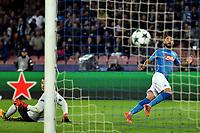 Gol Lorenzo Insigne Napoli Goal celebration <br /> Napoli 01-11-2017 Stadio San Paolo Calcio Uefa Champions League 2017/2018 Group F Napoli - Manchester City Foto Andrea Staccioli / Insidefoto