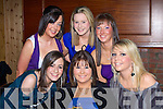 BIRTHDAY: Jennifer Wall,Dromtacker Tralee  seated who with her friends celebrated her 18th Birthday in La Scala Restaurdant, Tralee on Saturday night. Michelle Parker, Kate Dillon, Niamh Stack, Andrea Moriarty and Stacey O'Sullivan.............................. ..............................   Copyright Kerry's Eye 2008