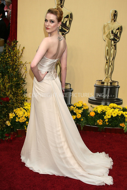 WWW.ACEPIXS.COM . . . . .  ....February 22, 2009. Hollywood, CA....Actress Rachel Evan Wood arrives at the 81st Annual Academy Awards held at the Kodak Theater on February 22, 2009 in Hollywood, CA.......Please byline: Z09- ACEPIXS.COM.... *** ***..Ace Pictures, Inc:  ..Philip Vaughan (646) 769 0430..e-mail: info@acepixs.com..web: http://www.acepixs.com