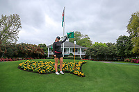 Olivia Mehaffey (NIR) after the practice round of the Augusta National Womans Amateur 2019, Champions Retreat, Augusta, Georgia, USA. 05/04/2019.<br /> Picture Fran Caffrey / Golffile.ie<br /> <br /> All photo usage must carry mandatory copyright credit (© Golffile   Fran Caffrey)