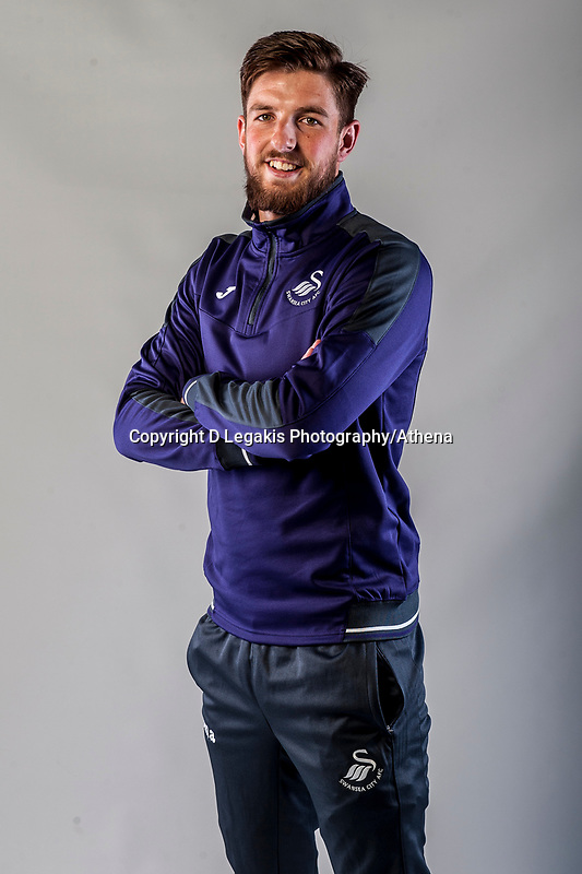 Friday  15 July 2016<br />Pictured: Josh vickers <br />Re: Swansea City FC  Joma Kit photographs for the 2016-2017 season