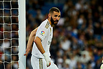 Karim Benzema of Real Madrid during La Liga match between Real Madrid and CD Leganes at Santiago Bernabeu Stadium in Madrid, Spain. October 30, 2019. (ALTERPHOTOS/A. Perez Meca)