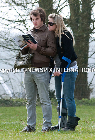 "CHEMMY ALCOTT (British No.1 Alpine Skier) AND BOYFRIEND DOUGIE CRAWFORD.at the Gatcombe Horse Trials, Gatcombe_27/11/2011..Mandatory Credit Photo: ©Dias/NEWSPIX INTERNATIONAL..**ALL FEES PAYABLE TO: ""NEWSPIX INTERNATIONAL""**..IMMEDIATE CONFIRMATION OF USAGE REQUIRED:.Newspix International, 31 Chinnery Hill, Bishop's Stortford, ENGLAND CM23 3PS.Tel:+441279 324672  ; Fax: +441279656877.Mobile:  07775681153.e-mail: info@newspixinternational.co.uk"