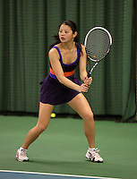 Rotterdam, The Netherlands, 15.03.2014. NOJK 14 and 18 years ,National Indoor Juniors Championships of 2014, Arianne  Hartono (NED)<br /> Photo:Tennisimages/Henk Koster