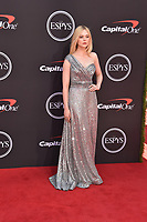 LOS ANGELES, USA. July 10, 2019: Elle Fanning at the 2019 ESPY Awards at the Microsoft Theatre LA Live.<br /> Picture: Paul Smith/Featureflash