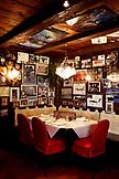 ITALY, Alta Badia/Dolomites, Table in Dining Room at Club Moritzino, near Slopes in Alta Badia