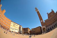 Piazza del campo - Sienna Italy