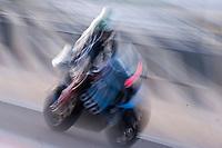 Randy Krummenacher in pit line at pre season winter test IRTA Moto3 & Moto2 at Ricardo Tormo circuit in Valencia (Spain), 11-12-13 February 2014