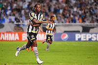 ATENÇÃO EDITOR: FOTO EMBARGADA PARA VEÍCULOS INTERNACIONAIS. - RIO DE JANEIRO, RJ, 09 DE SETEMBRO DE 2012 - CAMPEONATO BRASILEIRO - BOTAFOGO X NAUTICO - Andrezinho, jogador do Botafogo, comemora o seu gol, durante partida contra o Nautico, pela 23a rodada do Campeonato Brasileiro, no Stadium Rio (Engenhao), na cidade do Rio de Janeiro, neste domingo, 09. FOTO BRUNO TURANO BRAZIL PHOTO PRESS