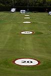 ROTTERDAM - afstanden. spots, SEVE Golfcentrum Rotterdam. FOTO KOEN SUYK