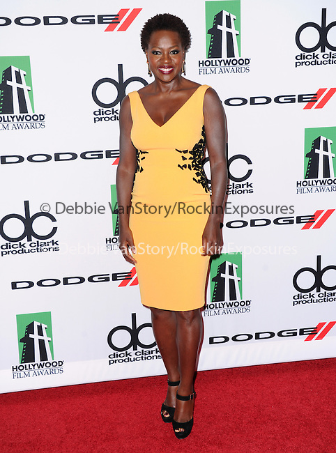 Viola Davis attends The 17th Annual Hollywood Film Awards held at The Beverly Hilton Hotel in Beverly Hills, California on October 21,2012                                                                               © 2013 Hollywood Press Agency