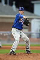 August 7 2008:  Pitcher Matt Wright of the Auburn Doubledays, Class-A affiliate of the Toronto Blue Jays, during a game at Dwyer Stadium in Batavia, NY.  Photo by:  Mike Janes/Four Seam Images