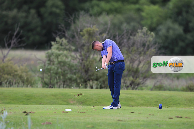 Robert Brazill (Naas) on the 6th tee during Round 4 of the 2016 Connacht Strokeplay Championship at Athlone Golf Club on Sunday 12th June 2016.<br /> Picture:  Golffile | Thos Caffrey