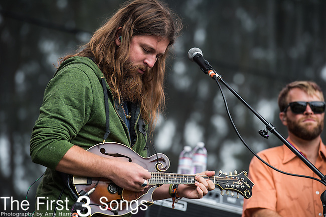 Paul Hoffman of Greensky Bluegrass performs at the Outside Lands Music & Art Festival at Golden Gate Park in San Francisco, California.