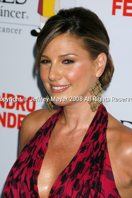 "HOLLYWOOD, CA. - October 07: Actress Daisy Fuentes arrives at the Padres Contra El Cancer's 8th Annual ""El Sueno De Esperanza"" Benefit Gala at the Hollywood & Highland Center on October 7, 2008 in Hollywood, California."