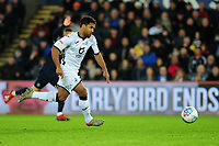Wayne Routledge of Swansea City in action during the Sky Bet Championship match between Swansea City and Barnsley at the Liberty Stadium in Swansea, Wales, UK. Sunday 29 December 2019