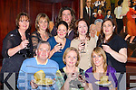 Sampling some of the treats on offer at the Wine and Cheese tasting evening in aid of Cromane NS in the Manor Inn, Killorglin on Friday night front row l-r: Sean Roche, Mary Roche, Ann Foley. Back row: Pauline O'Connor, Marian Cronin, Meg Cooney, Kim O'Mahony, Emir Dourieu and Jancinta O'Shea   Copyright Kerry's Eye 2008