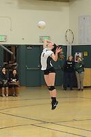 The Harker School - US - Upper School - US Varsity Girls Volleyball vs Mercy-Burlingame - photo by Robert Boucher, parent