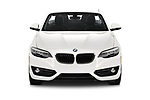 Car photography straight front view of a 2018 BMW 2 Series 230i Sport Line 2 Door Convertible