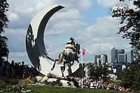 LONDRES, INGLATERRA, 30 JULHO 2012 - OLIMPIADAS 2012 - CROSS COUNTRY -  A atleta Samantha Alberta durante a prova do Cross Country nas  Olimpiadas de Londres, nesta segunda-feira, 30. (FOTO: PIXATHLON / BRAZIL PHOTO PRESS).