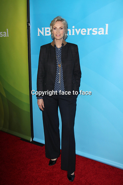PASADENA, CA - January 19: Jane Lynch at the NBC-Universal 2014 TCA Winter Press Tour, Langham Huntington Hotel and Spa, Pasadena, January 19, 2014.<br />