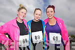 Cousins Fiona Harnett with sisters Yvonne and Emma Stack pictured at the Feale Fit Annual Easter 5k run last Sunday in Abbeyfeale.