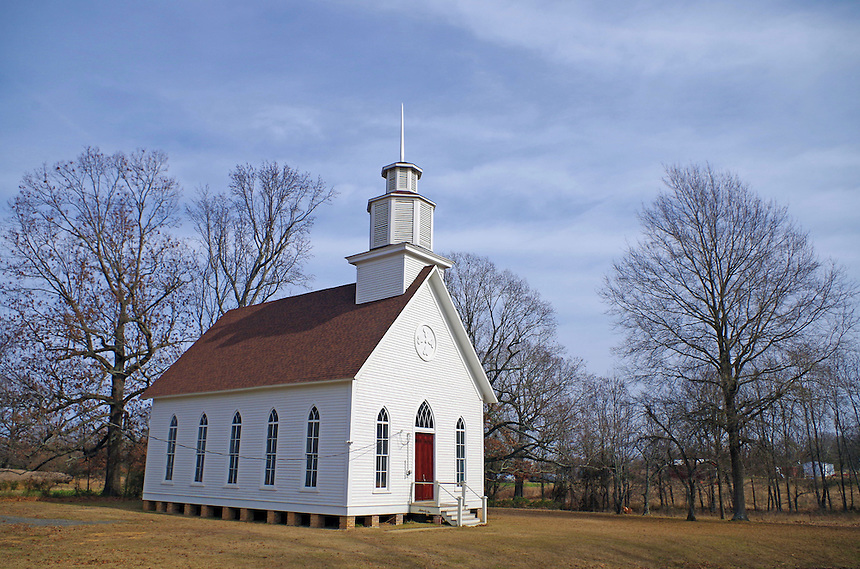 Historic Selma Methodist Church at Selma, Arkansas