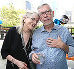 Susan Haskins-Doloff and Sam Rudy attend the Retirement Celebration for Sam Rudy at Rosie's Theater Kids on July 17, 2019 in New York City.