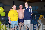 MARATHON: Early start for Brid Browne(Enable Ireland), Kevin Lawlor and Claire Young as they take to the pool in Manor West Hotel, Tralee on Sunday for Enable Ireland for the Enable Ireland Maraton Swim................. . ............................... ..........
