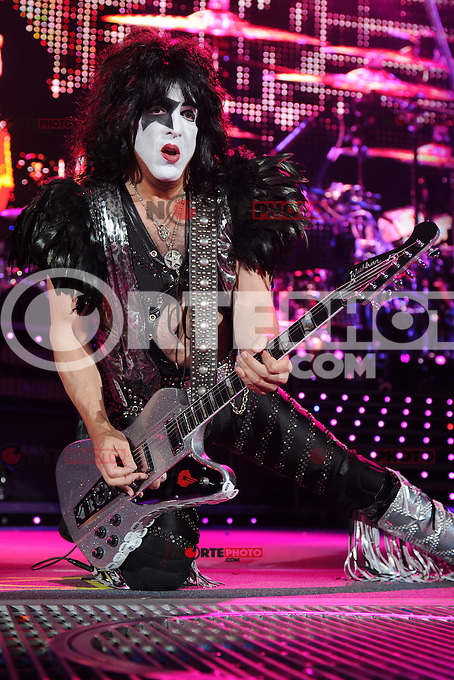 ALBUQUERQUE NM - AUGUST 7:  Paul Stanley of Kiss performs at the Hard Rock Casino Albuquerque on August 7, 2012 in Albuquerque, New Mexico. /NortePhoto.com<br />