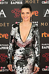 French actress Juliette Binoche attends 30th Goya Awards red carpet in Madrid, Spain. February 06, 2016. (ALTERPHOTOS/Victor Blanco)