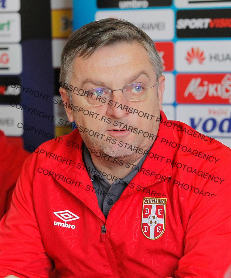 Tomislav Sivic Reprezentacija, U21 Srbija - Norveska , baraz 11.11.2016. Beograd Srbija kvalifikacije  Serbia - Norway (credit image & photo: Pedja Milosavljevic / STARSPORT)