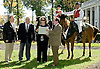 DTHA award at Delaware Park on 10/20/12