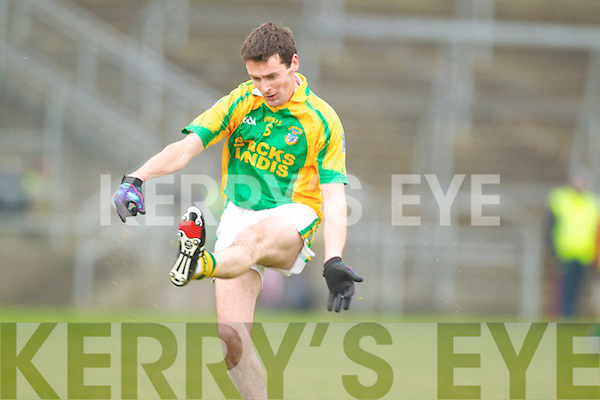 Pat Corridan Finuge in action against  Saint Vincents in the Intermediate Club Mumster Final at Mallow on Sunday.