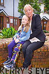 Chloe O'Sullivan from Farranfore who has spina bifida, pictured with her mom Elaine, lives life with no limits and is currently writing her second book.
