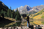 Come late-September, the Maroon Bells become even more popular, with visitor from around the world. John offers fall foliage photo tours throughout Colorado.