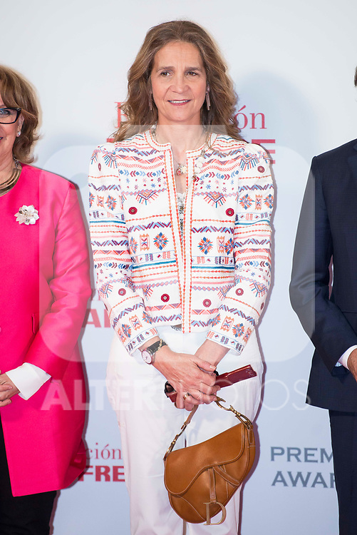 Infanta Elena de Borbon during Foundation Mapfre Awards 2016 at Circulo de Bellas Artes in Madrid, June 06, 2017. Spain.<br /> (ALTERPHOTOS/BorjaB.Hojas)