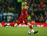 Jordan Henderson of Liverpool during the UEFA Champions League match at Anfield, Liverpool. Picture date: 27th November 2019. Picture credit should read: Andrew Yates/Sportimage