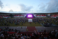 Llanelli, UK. Saturday 03 June 2017<br /> General view of the stadium during the Jess Glynne show