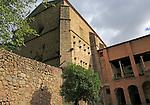 Monasterio de Yuste, Monastery at Cuacos de Yuste, La Vera, Extremadura, Spain