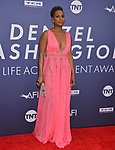 Issa Rae 050 attends the American Film Institute's 47th Life Achievement Award Gala Tribute To Denzel Washington at Dolby Theatre on June 6, 2019 in Hollywood, California