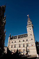 The belfry of Aalst, also known as Schepenhuis (Belgium, 04/08/2009)