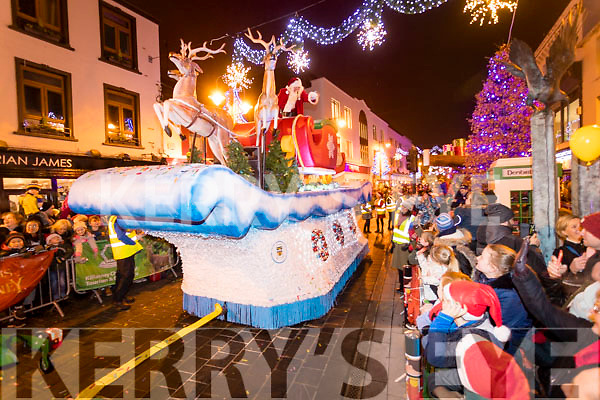 The Christmas in Killarney parade on Friday night.