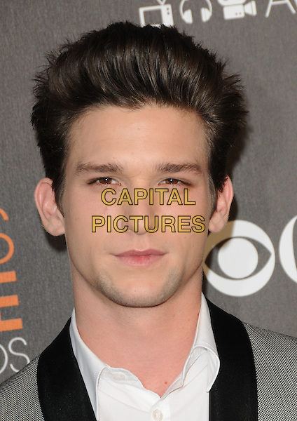 DAREN KAGASOFF.Arrivals at the 2010 People's Choice Awards held at the Nokia Theater L.A. Live in Los Angeles, California, USA. .January 6th, 2010.headshot portrait white grey gray black.CAP/RKE/DVS.©DVS/RockinExposures/Capital Pictures.