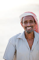 Sheikh Noah, village leader of Dese Brho at Qa'arah, Socotra, Yemen